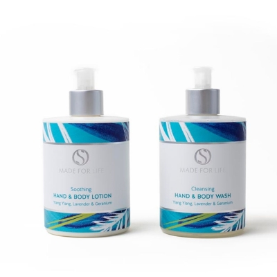 Hand & Body Wash and Lotion set