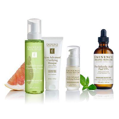 Eminence organics acne advanced treatment collection