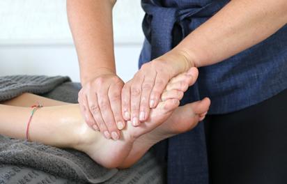 Specialist treatment reflexology